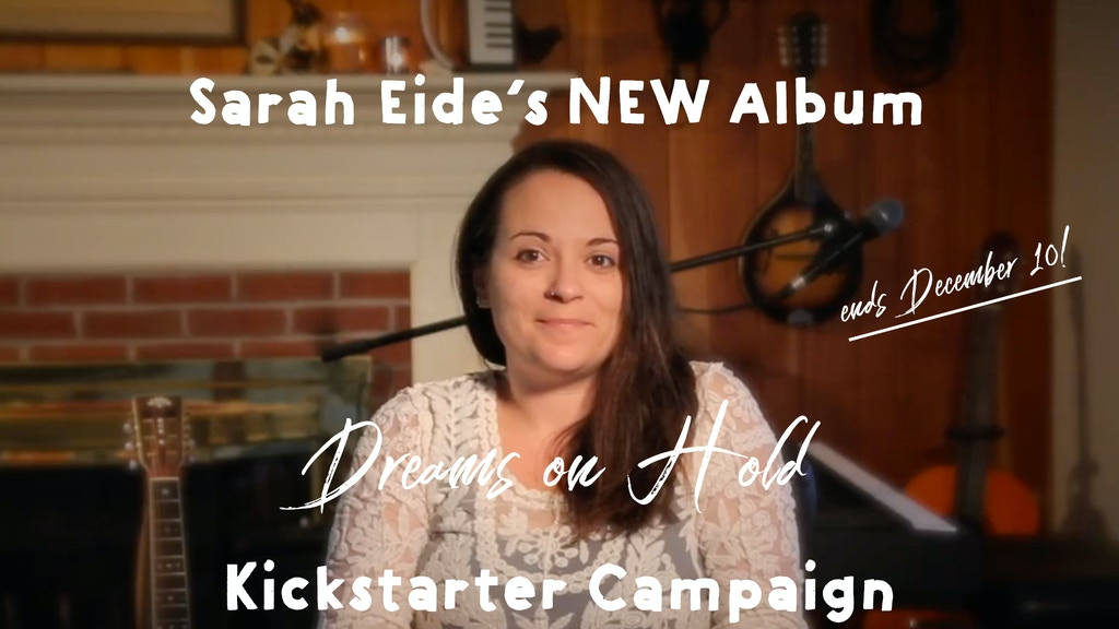 Sarah Eide's First Full-Length, Produced Album! project video thumbnail