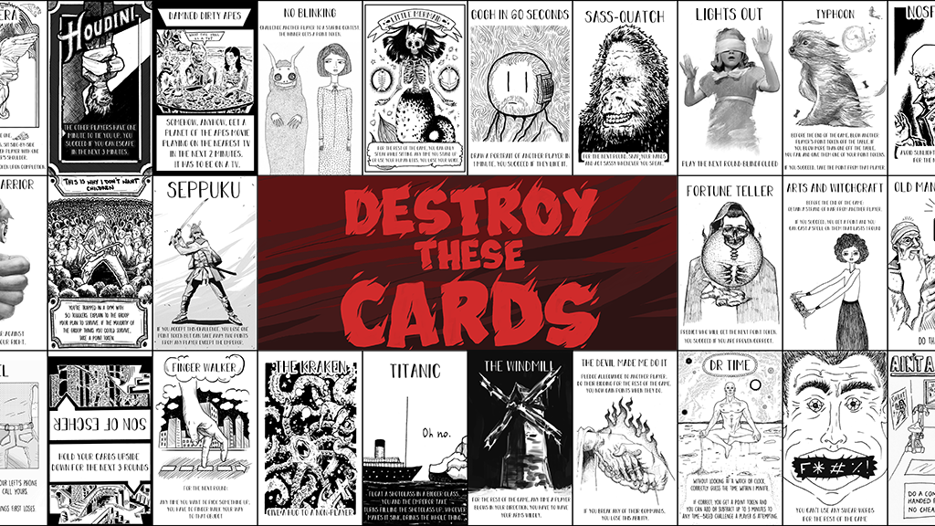 Destroy These Cards project video thumbnail
