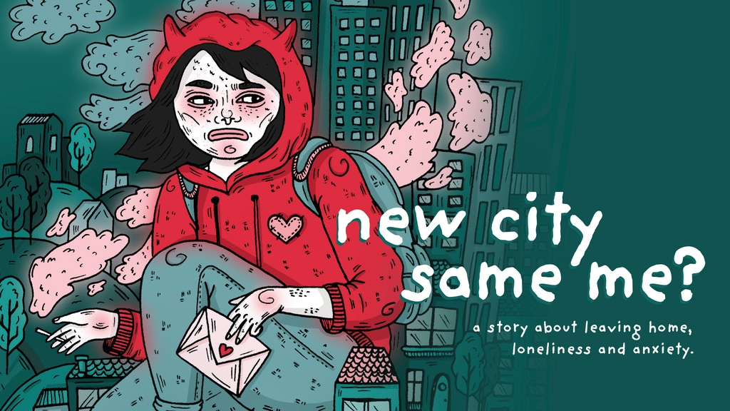 new city - same me? || a graphic novel by anna roschker project video thumbnail