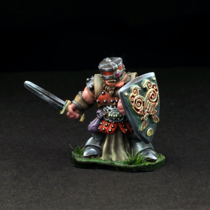 Dwarven Male with Sword