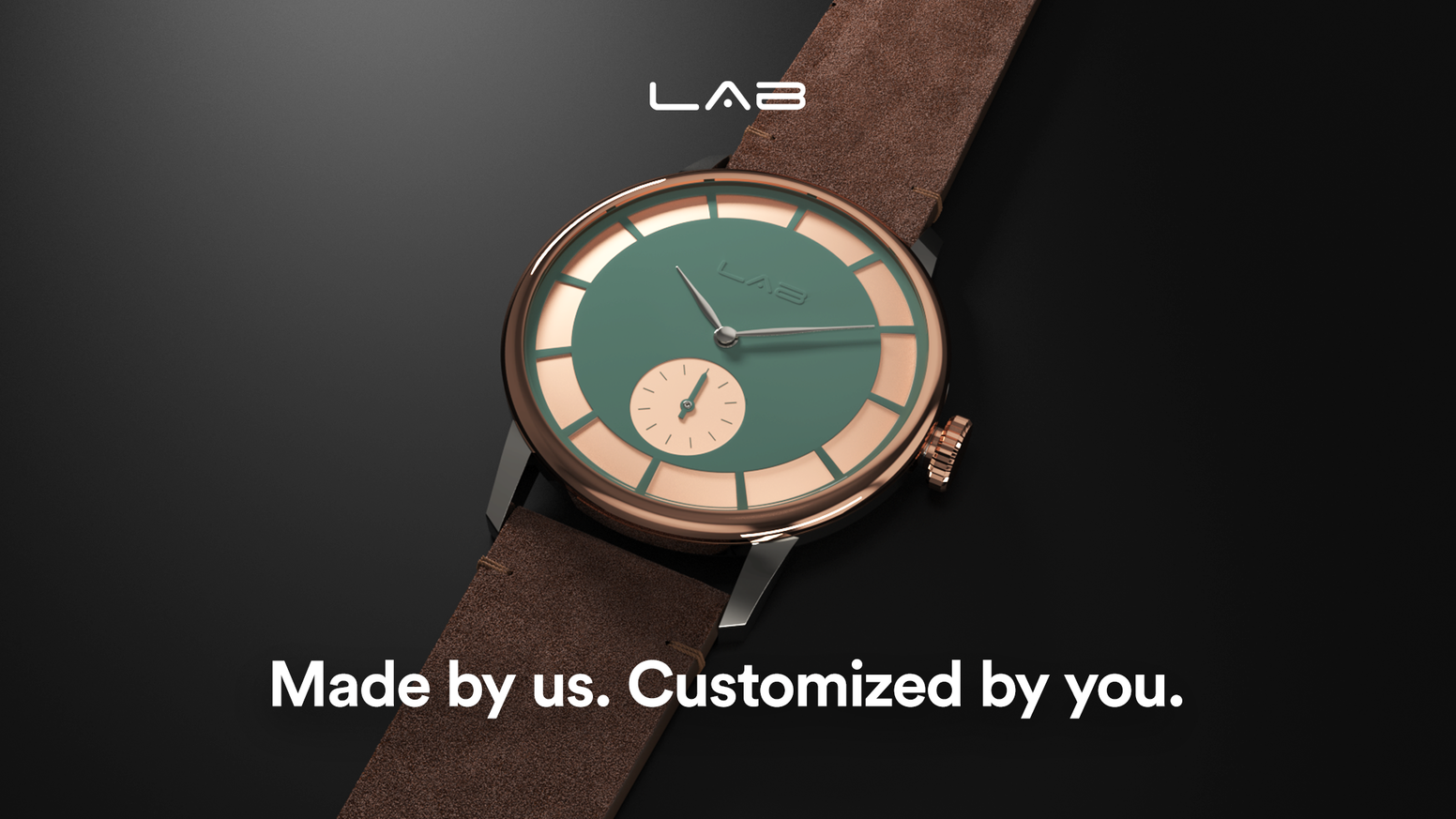 Your chance to customize a watch that's one of a kind. Available now on Indiegogo InDemand.