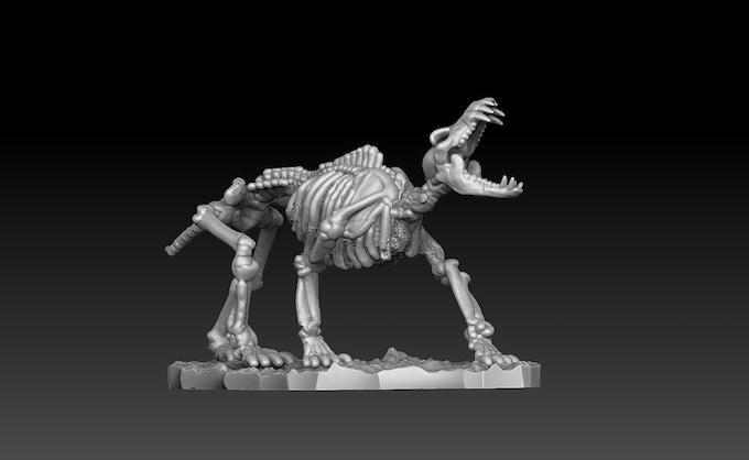 Skeletal Wolf C