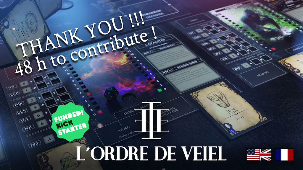 Order of Veiel : The board game project video thumbnail