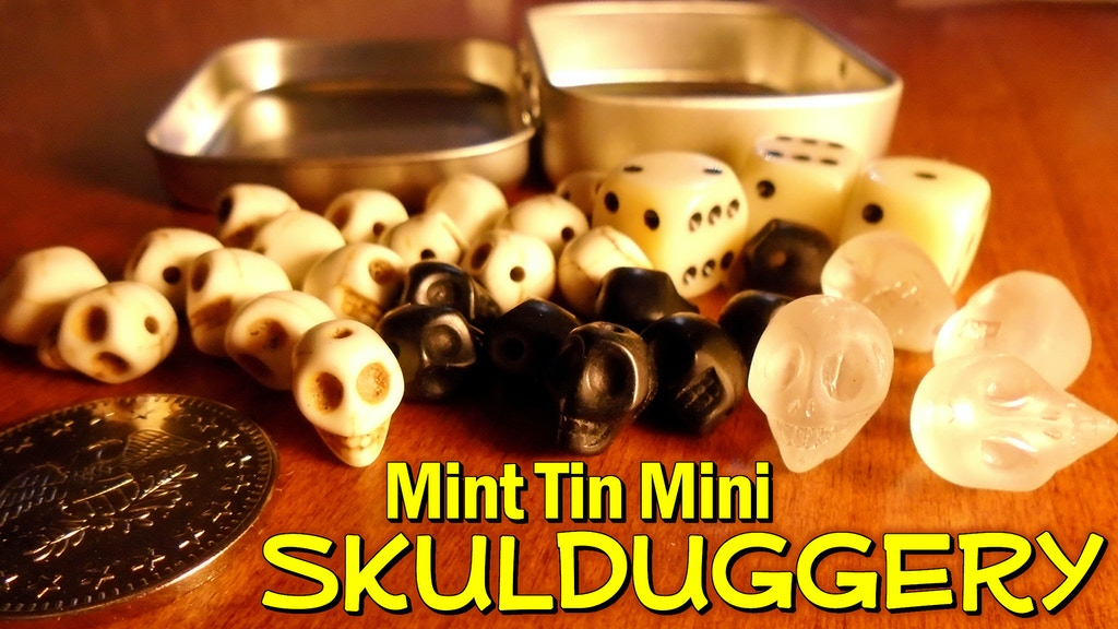 Mint Tin Mini Skulduggery project video thumbnail