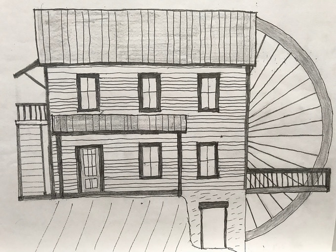 Desired look of Raines Mill exterior