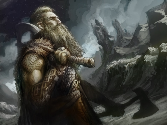 A dwarf of the Valelands.