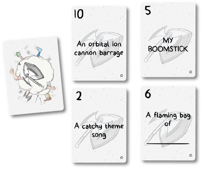 Example Weapons from the Combat Deck