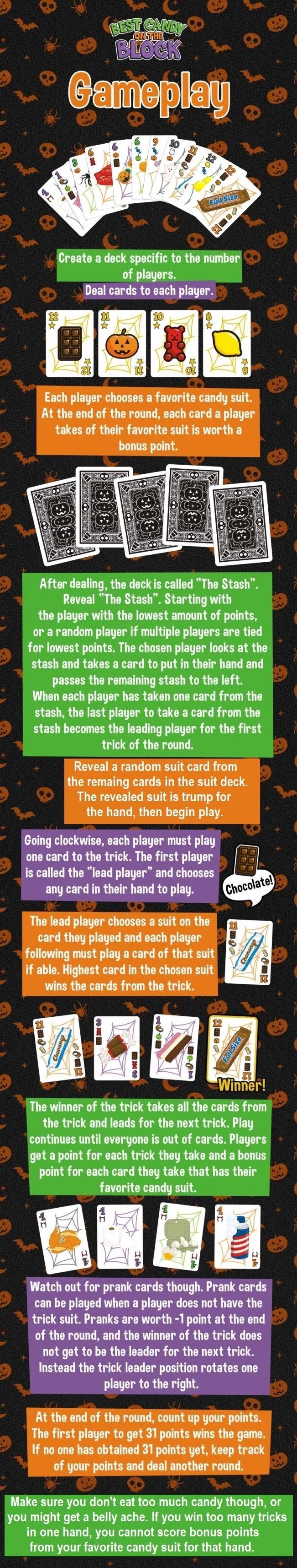 Gameplay info