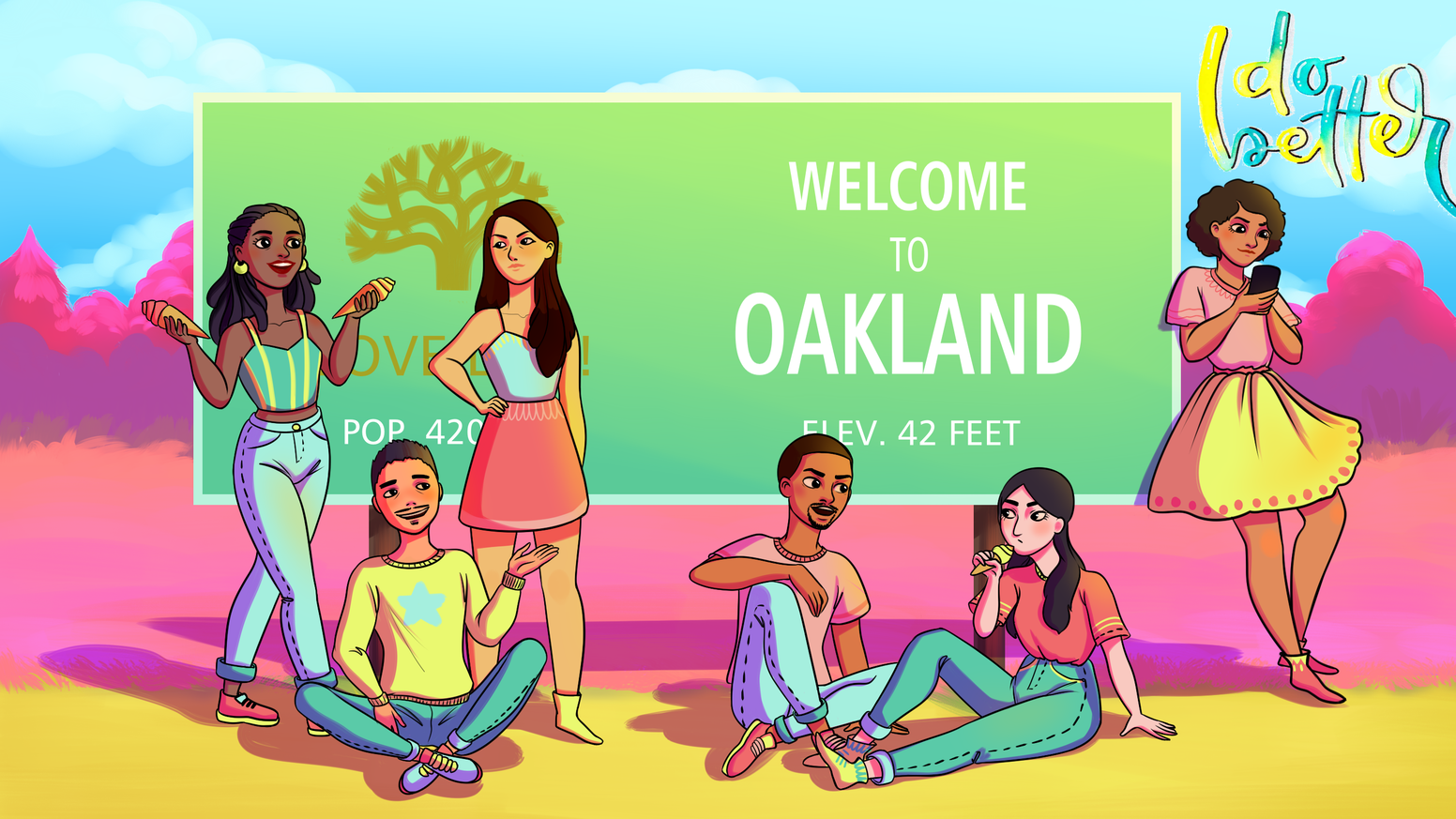 A dramedy web series about six Black and Asian friends living in Oakland who are learning to love, forgive, and grow up.