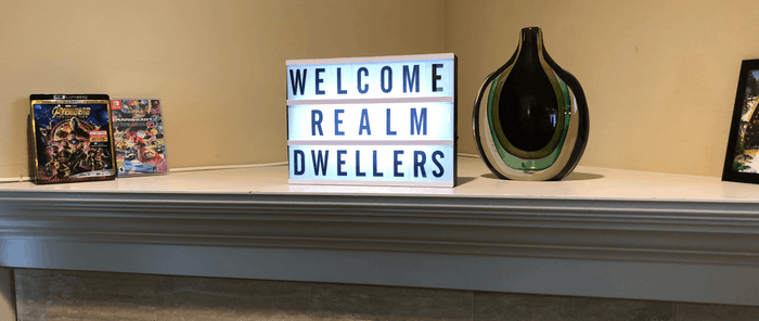 Welcome Realm Dwellers!