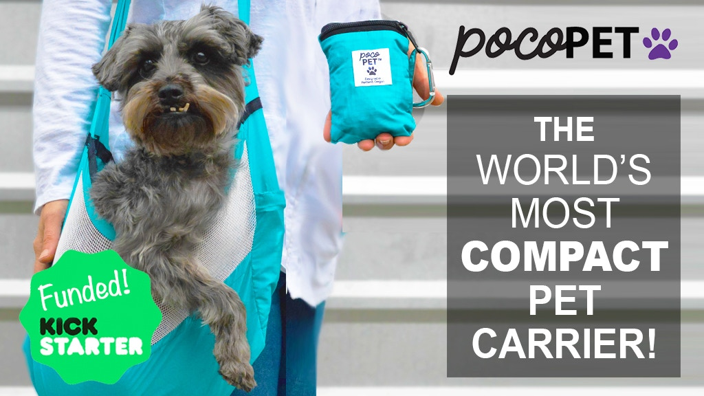 9892eabf791 PocoPet: World's Most Compact Pet Carrier for Dogs & Cats project video  thumbnail