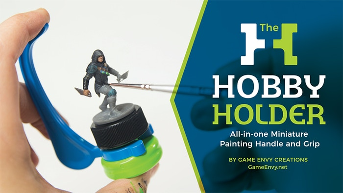 An all-in-one handle and grip for miniature painting, sculpting, model  building and more. Improve your painting technique and get to your games  faster.