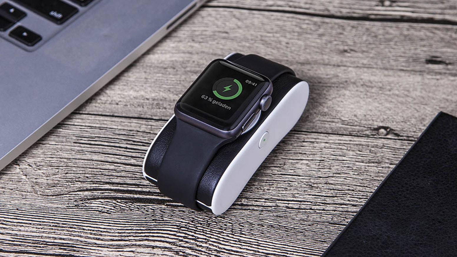 Charge Your Watch On-The-Go | Lightning Plug | Fully Charge Watch Twice | Works with ALL Apple Watches | Secure Fit Charging