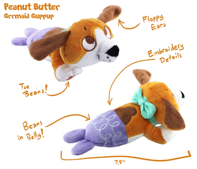 Peanut Butter Grrmaid Guppup -$20