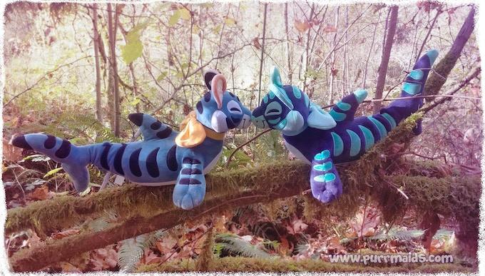 Two Toygersharks from far away oceans meet