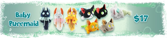 Any non limited Baby Purrmaid from my collection can be added on