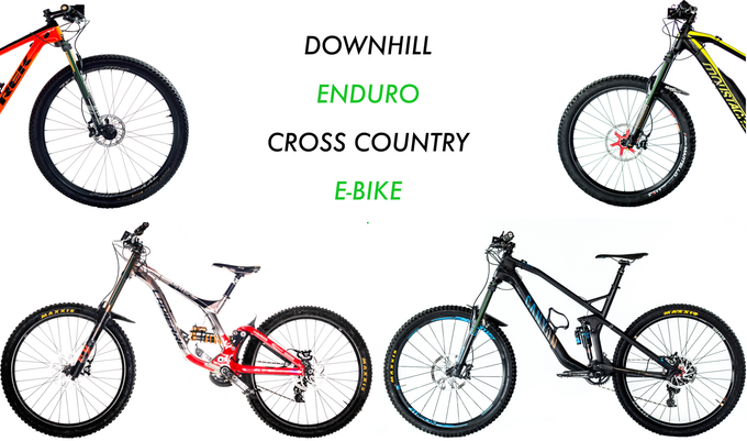 Which bike will you choose today?