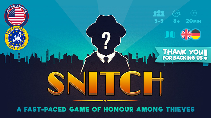 A heist game of bluffing and betrayal for 3-5 players. Will you be honest or will you snitch to steal from your friends?