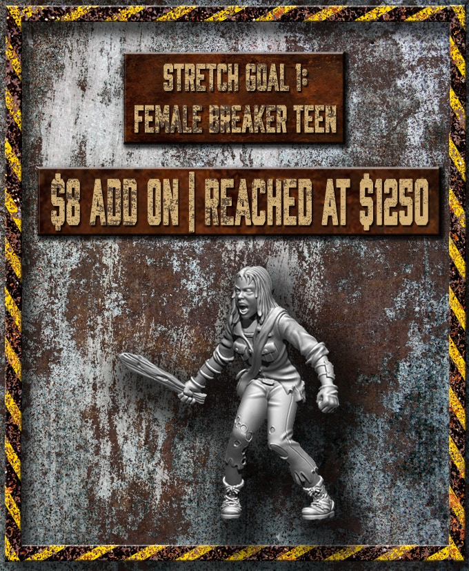 Stretch Goal #1 Voted on before the KS launch.