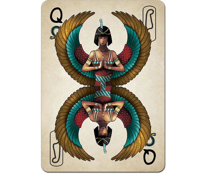 SECRET EGYPT Playing Cards [LIMITED] Premium 52+2 Cards Deck by