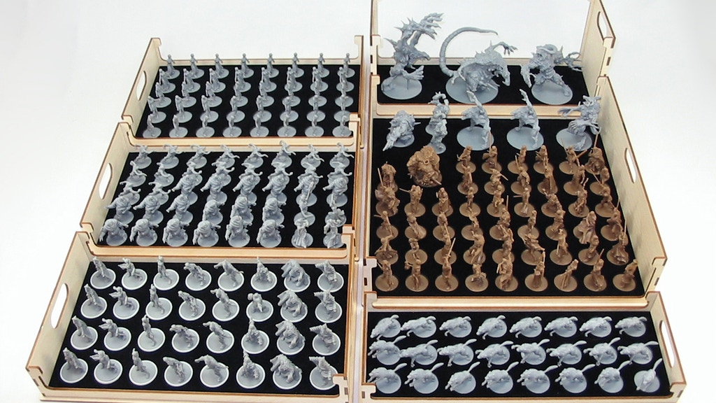 Project image for Ready To Play Storage for Zombicide Black Plague/Green Horde