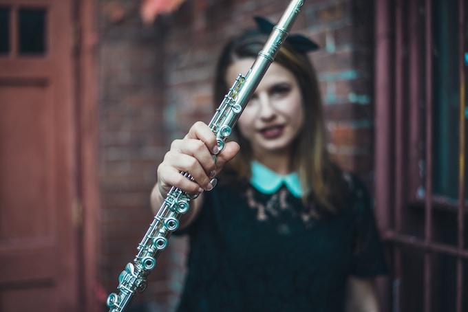 Emily Kaplan, flutist