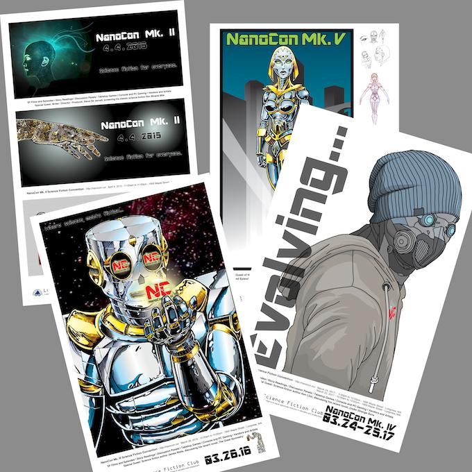 REWARD: NanoCon Poster Set - Six (6) Posters