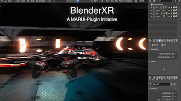 BlenderXR - Modeling features development