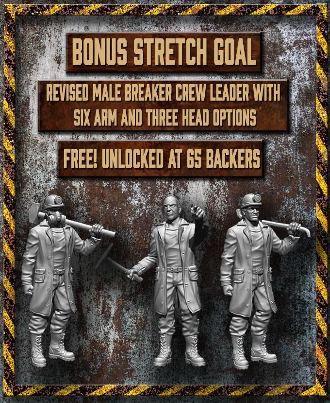 Updated multi-part male Breaker Crew Leader.