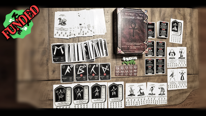 The Language of Magic is a deck-building card game for 1 to 4 players inspired by the works of Richard Garriott.