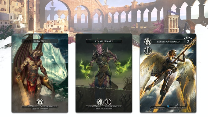Tournament exclusive cards