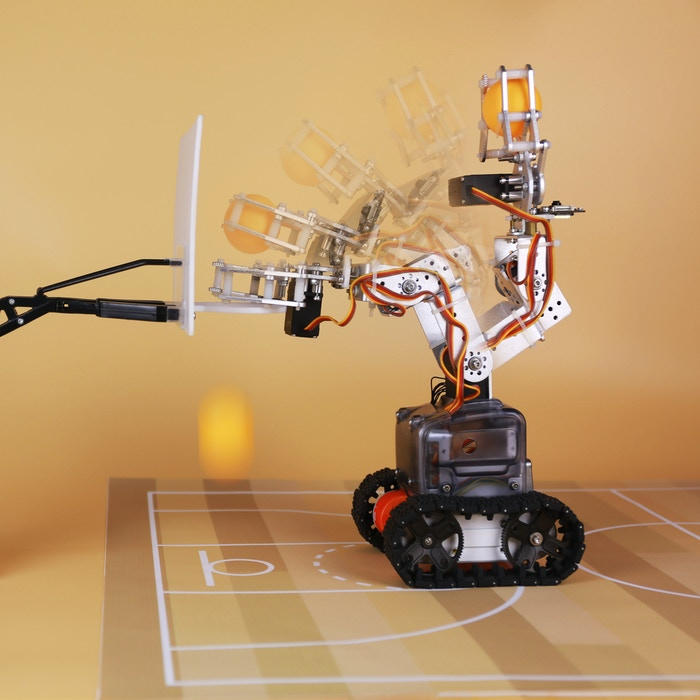 MoonBot: DIY Kit for Tinkering with Modern Robotics & AI by