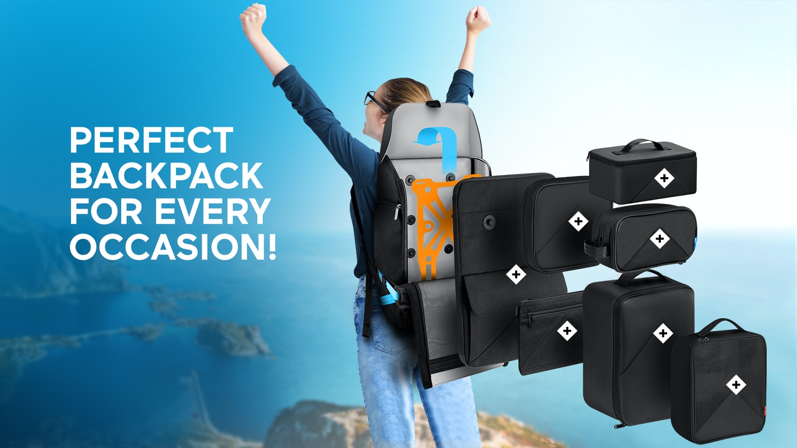 Xpedition-The Only PERFECTLY Balanced Backpack For Your Life