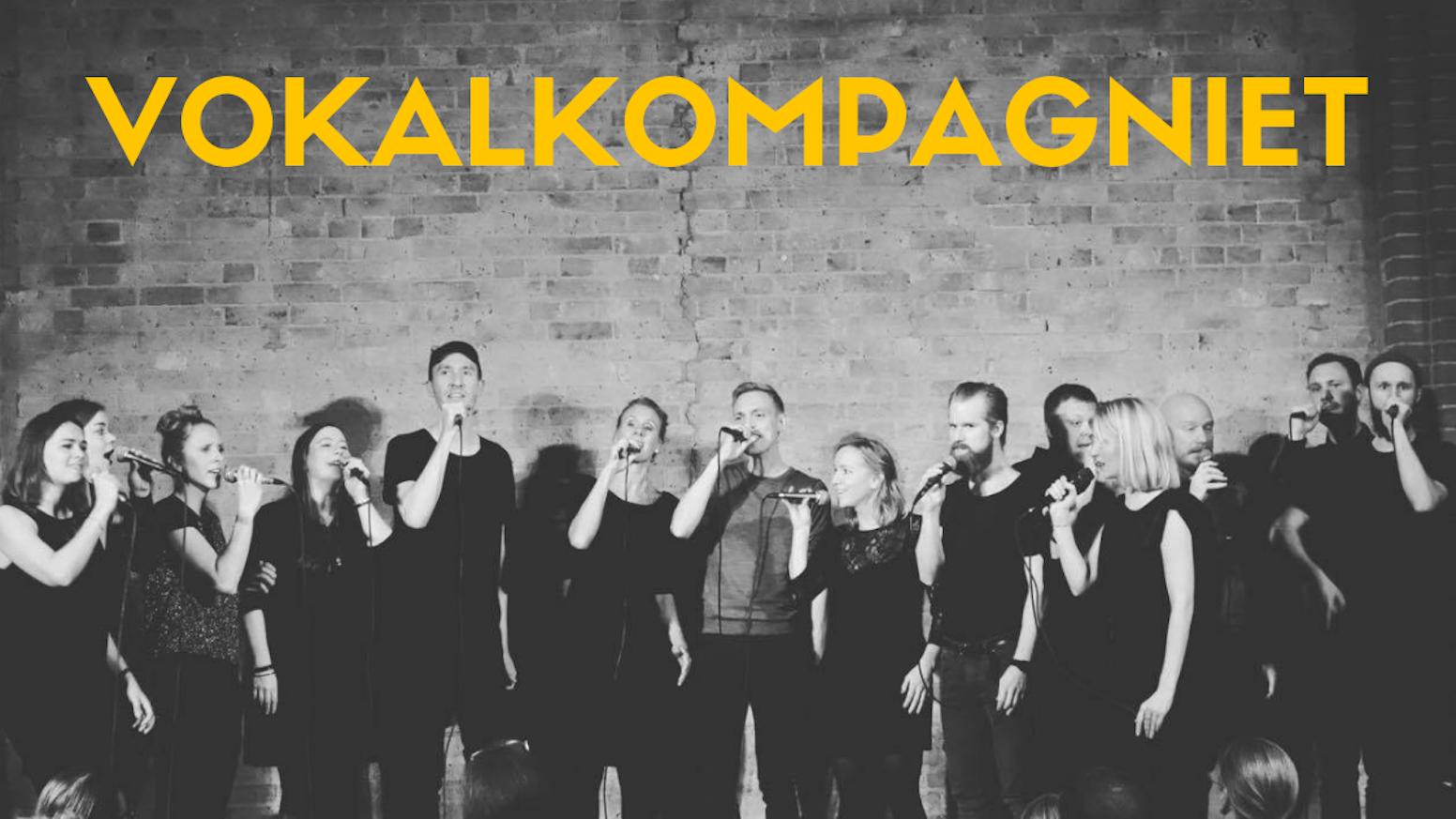 A CAPPELLA ALBUM - Vokalkompagniet by Vokalkompagniet — Kickstarter