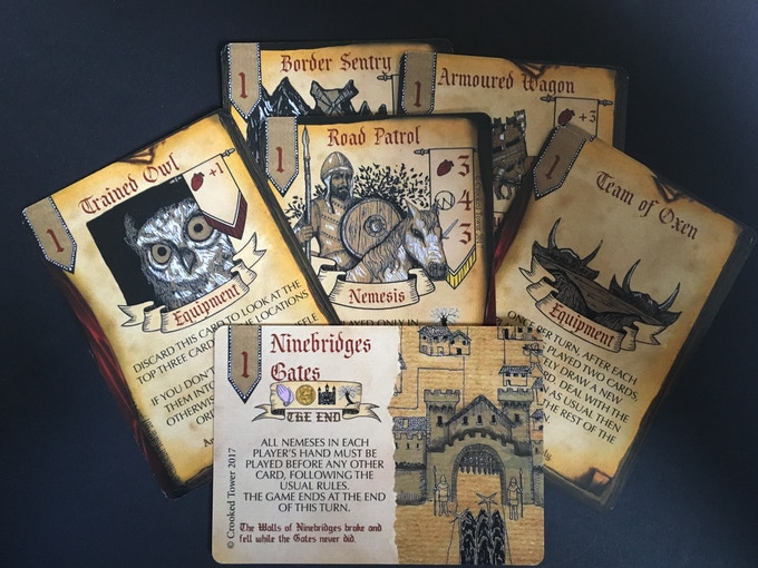 Mission 1 cards in campaign mode