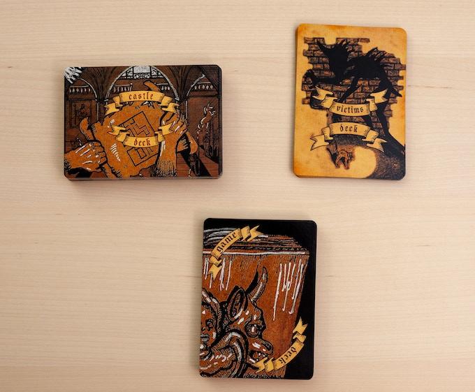 The three decks in Corridors & Screams