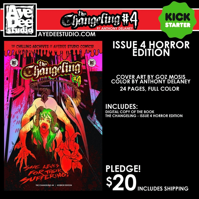The Changeling Issue 4 Horror Main Edition
