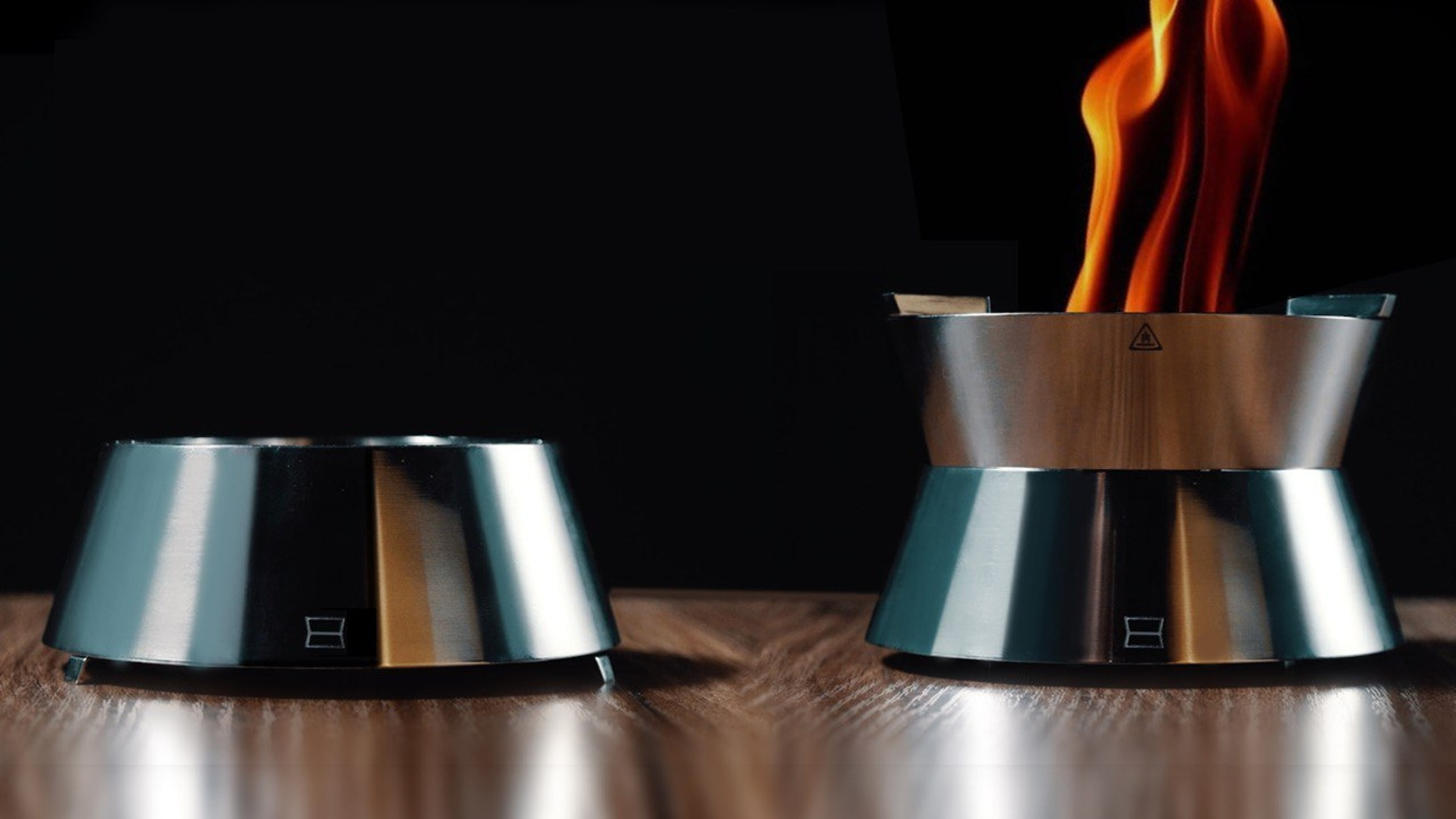 An ultra-compact stove with vortex efficiency to dish up tasty meals on the move