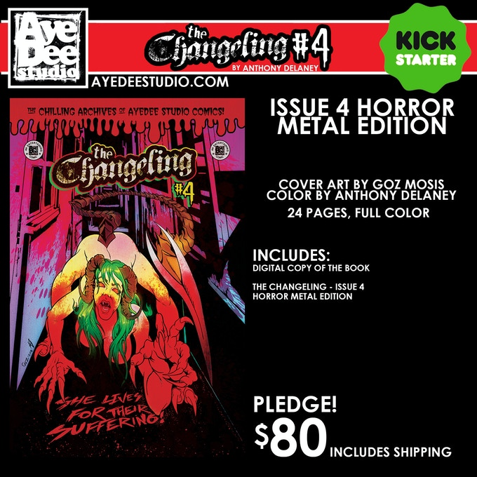 The Changeling Issue 4 Horror Metal Edition