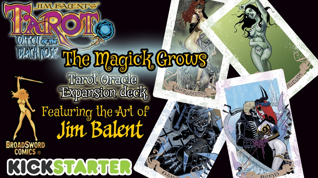 THE MAGICK GROWS: TAROT ORACLE DECK project video thumbnail