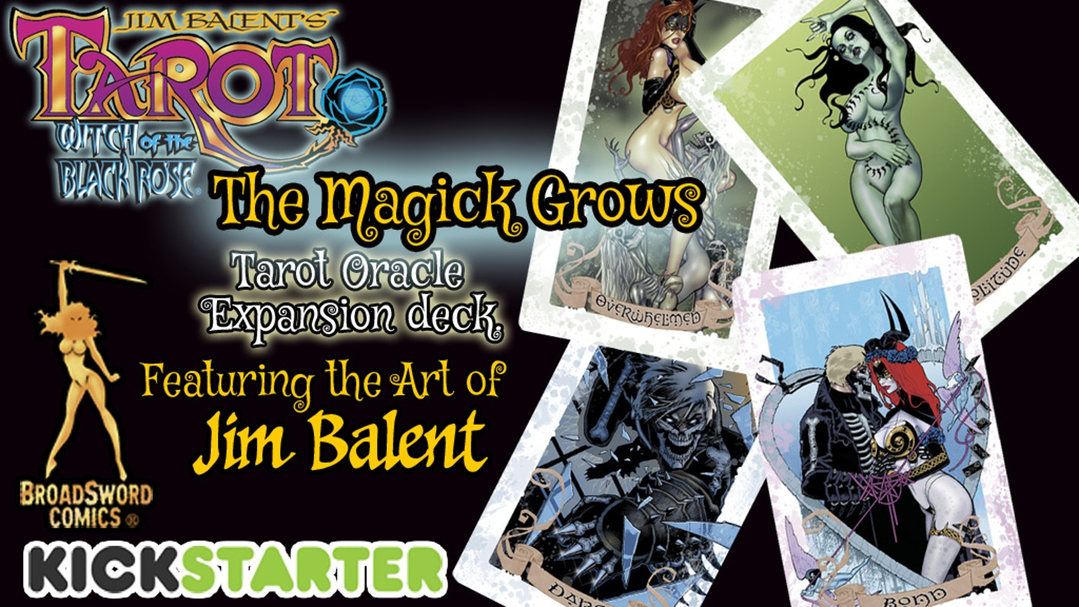 Jim Balent's Tarot, Witch of the Black Rose Oracle Deck