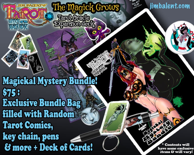 Don't Miss this Magickal Mystery Bundle! Each bundle varies!
