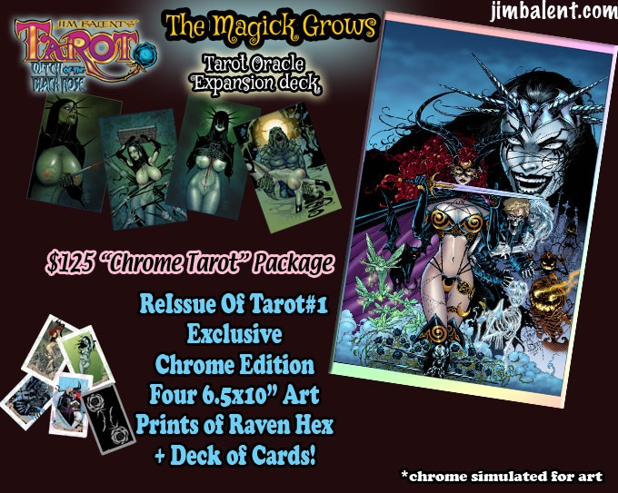 Did you Miss the Very 1st Issue of Tarot? First time in Chrome !