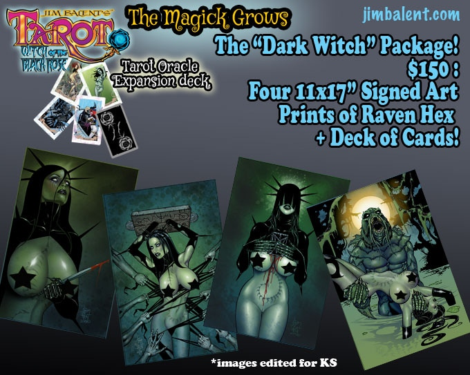 Jim Balent's Dark Witch for you to Hex your home with!