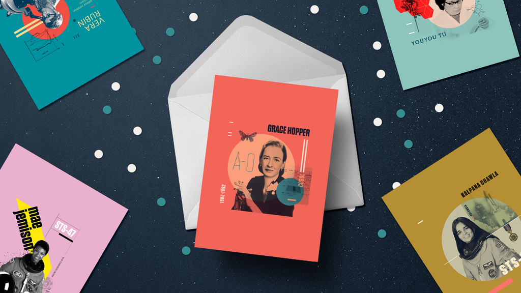 Beyond Curie: Women in STEM Holiday Cards project video thumbnail
