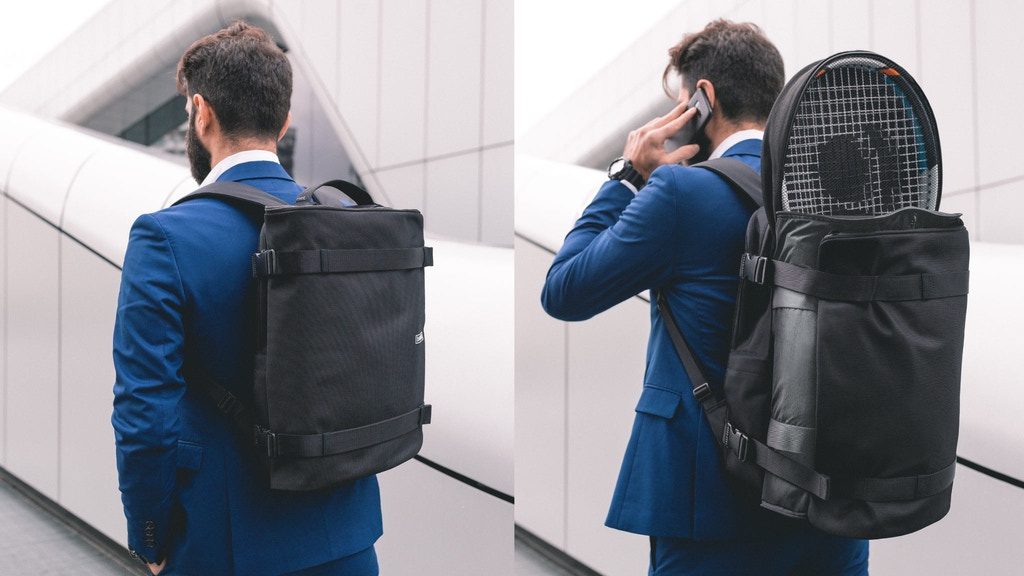 Banale Backpack: a new category of urban backpack project video thumbnail