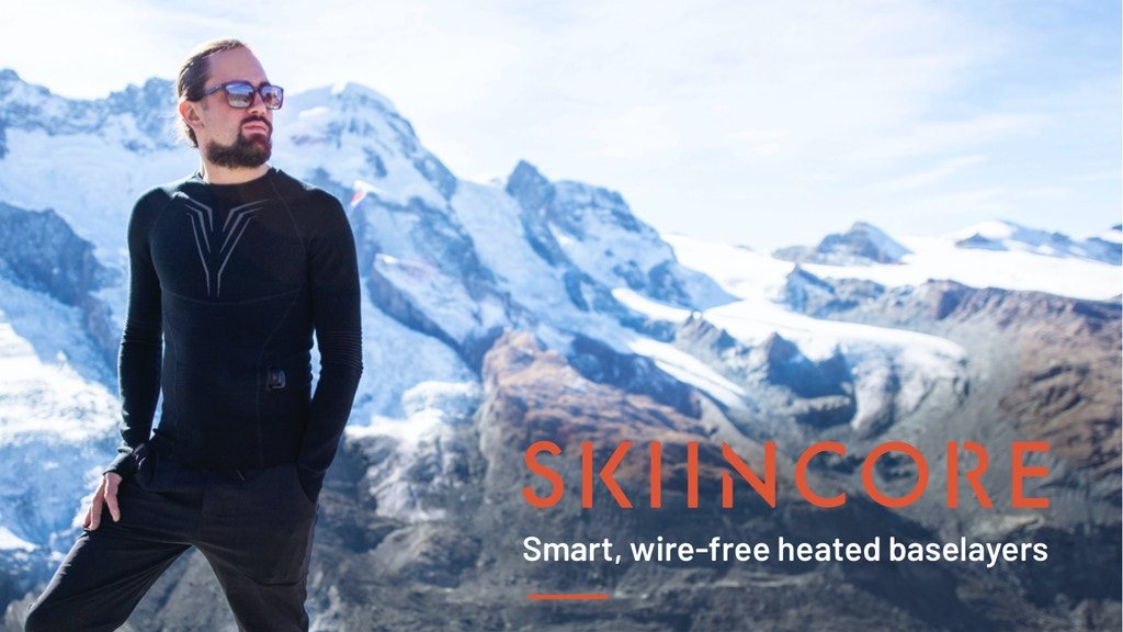 The First Ever Wire-Free Heated Base Layer with Knitted Tech project video thumbnail