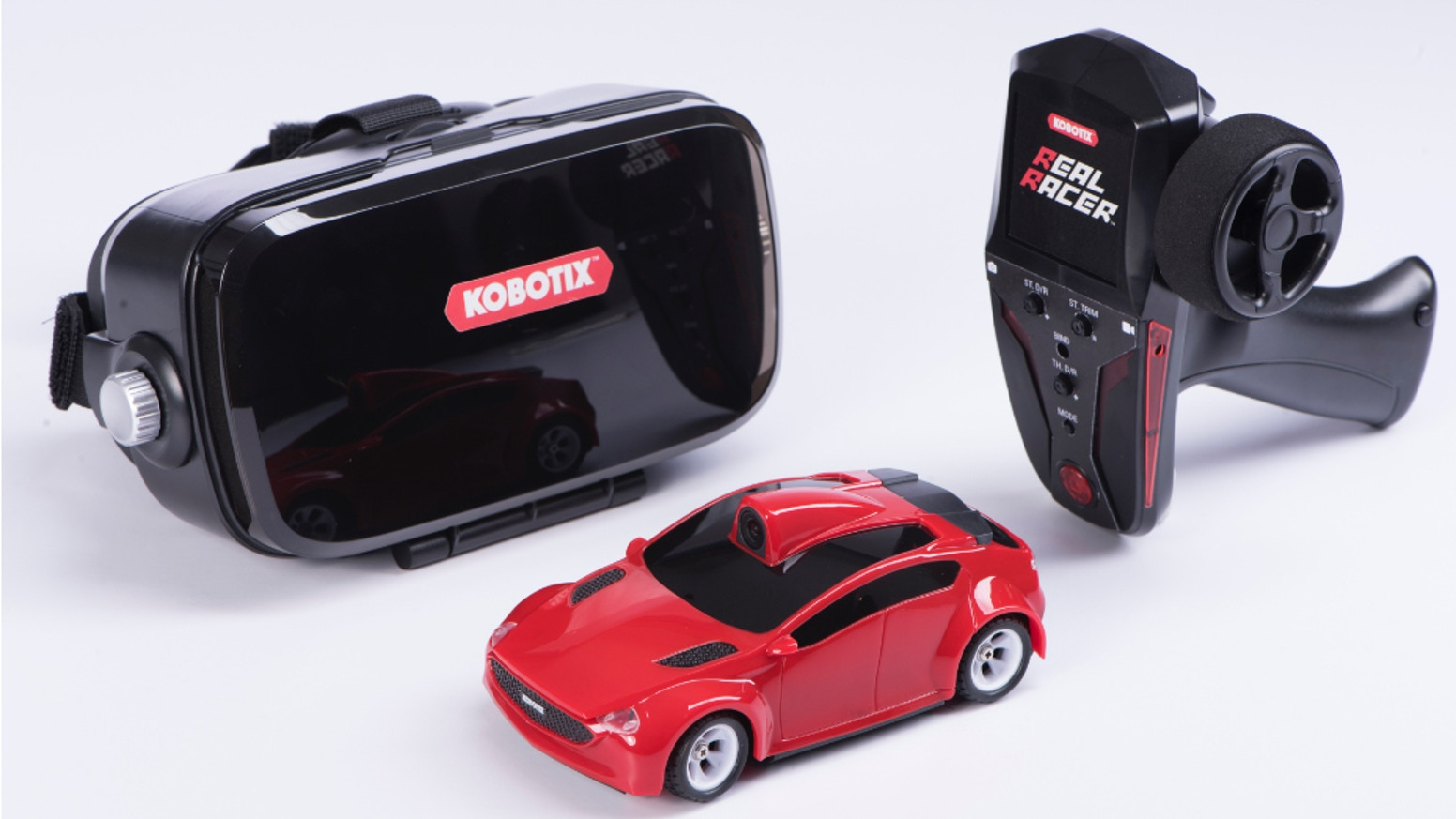 Put yourself in the driver's seat and immerse yourself in the world of Real Racer - the next generation in RC play!