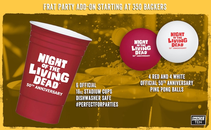 "This ""FRAT PARTY"" ADD-ON will be added to tiers 5, 6, 7, & 8 if we hit our stretch goals."