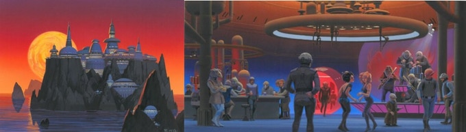 Cozmo's concept art, created by the legendary Star Wars/Cocoon/E.T./Back to the Future artist, Ralph McQuarrie.